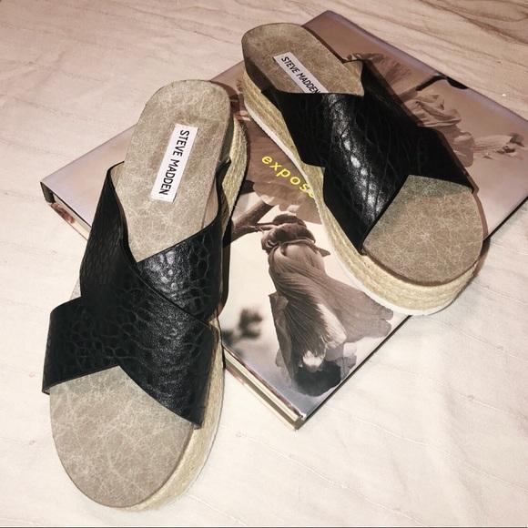 0ab4fdb108f STEVE MADDEN hassie espadrilles sandal. M 5ade9849a4c485c015bb57e9